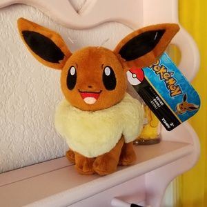 Offical license pokemon eevee plushie